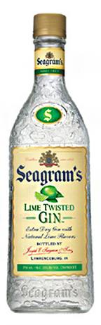 Seagrams Gin Lime Twisted